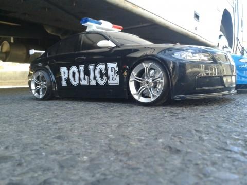 RC POLİS ARABASI YAPIMI – Handmade Police Body