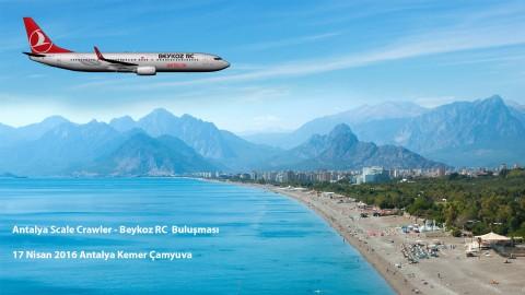 17.04.2016 Antalya Scale Crawler – Beykoz RC Buluşması