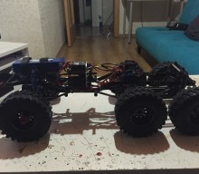 El Yapımı Axial SCX10 6×6 Şase – Handmade SCX10 6×6 Chassis