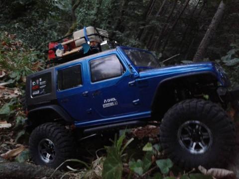 SCX10 Jeep Wrangler Rubicon -Aerodactyl –