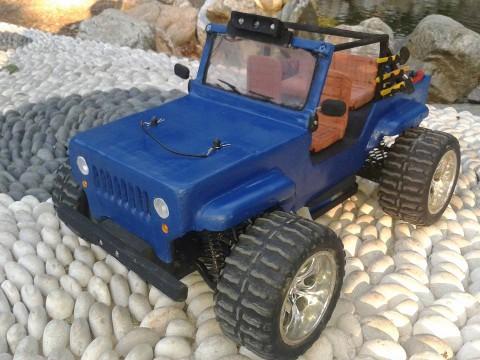 İlk çalışmam Jeep Projem