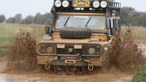 El Yapımı RC Camel Trophy Land Rover Defender 110 -Handmade