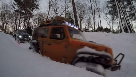 Beykoz RC Crawler 01.01.2016 Karlı Bulusma [Video]